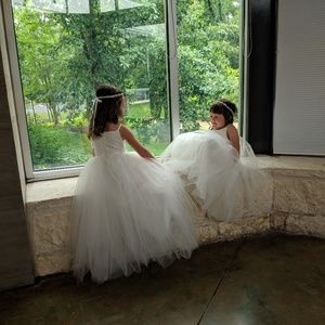 Tulle and Lace Flower girl dress 4t